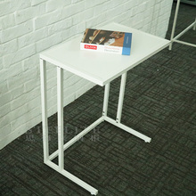 2018 New design KD metal base side table computer side table