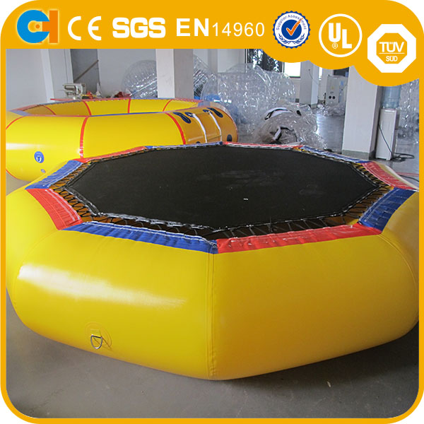 FUNNY inflatable water bouncer,water blob,used water trampoline