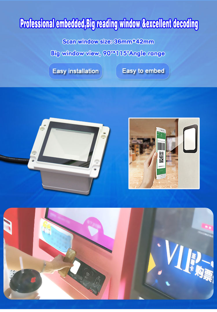 Reading Screen/payment/check-in Application Event Lottery Ticket Barcode  Scanner Hm10-s - Buy Lottery Ticket Scanner,Ticket Scanner,Ticket Barcode
