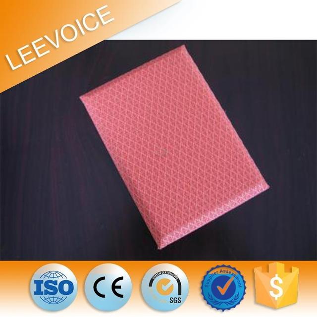 Fabric Interior Wall Paneling Sound Insulation Sponge