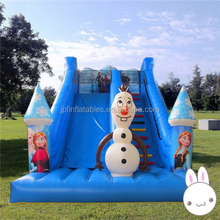 2019  inflatable snowzilla slide for sale / inflatable Frozen princess theme slide