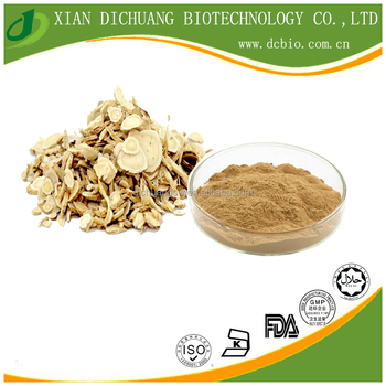 Natural Astragalus Root Extract Powder Astragaloside 1% Anti-fatigue