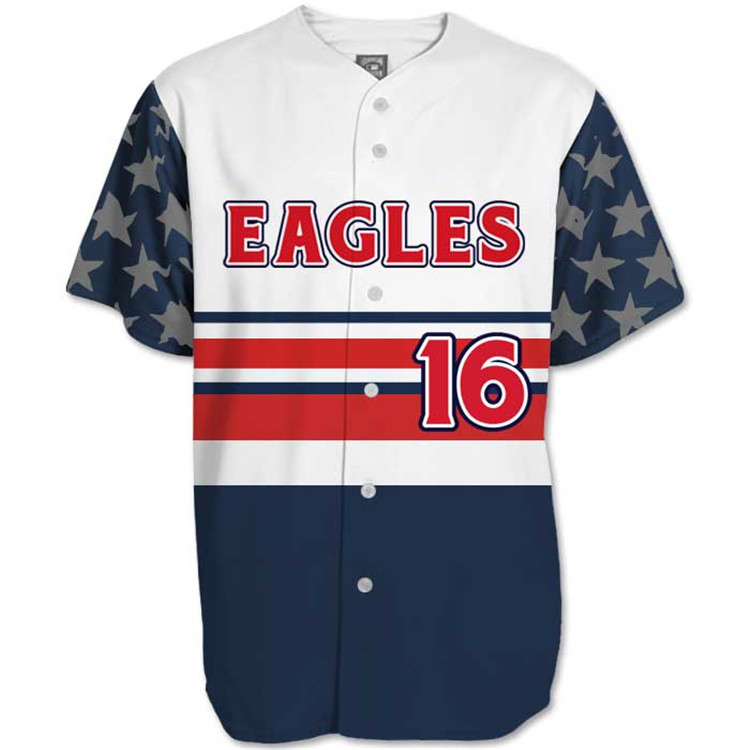 Navy jeugd honkbal kleding custom team honkbal jerseys