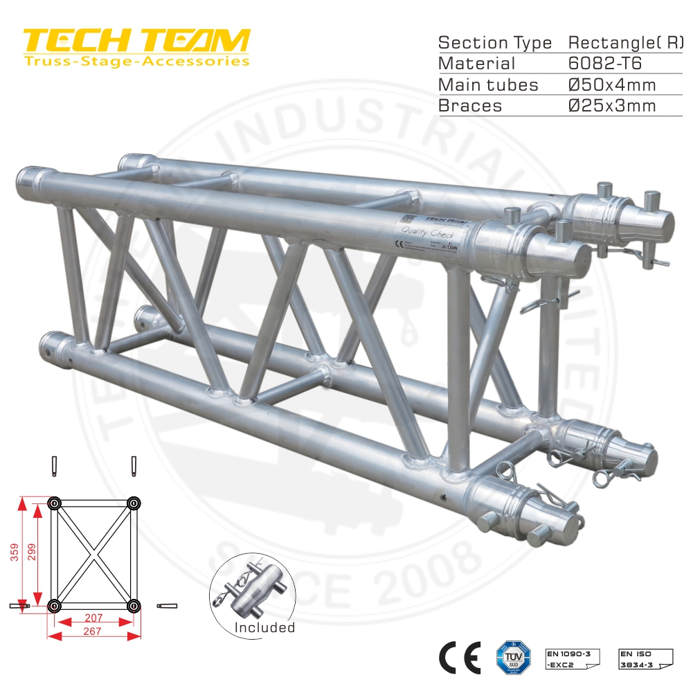 D36-RS30 Aluminum Rectangle Aluminum Girder Truss
