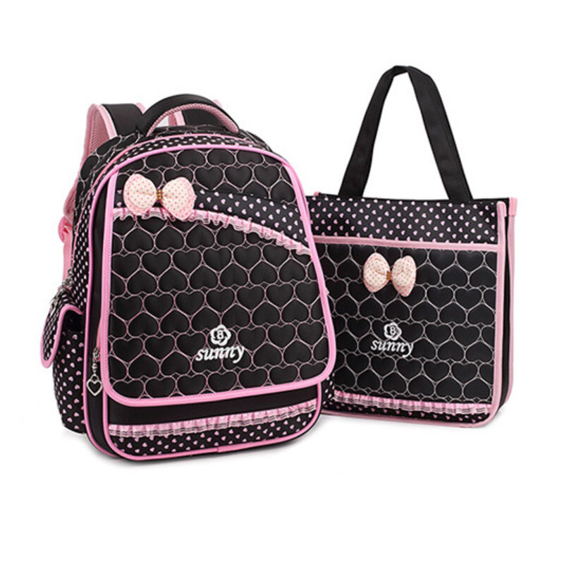09df20c5359f Get Quotations · 2015 orthopedic school bags for girls kids ergonomic  elementary student backpack children pink blue black Korea