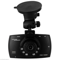 170 wide angel car dvr 6 layer glass lens fish eye lens 1080P camera on car