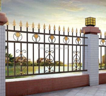 Superieur Latest Modern Cast Aluminum Fence/decorative Metal Garden Fence/philippines  Gates And Fences