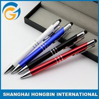 Colorful Promotion Metal Roller Pen For Writing