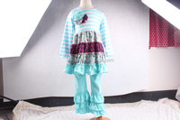 Wholesale Chinese Manufactures Children Clothes In Famous Children Brand Clothes With Unique Ruffles Outfits For Kids