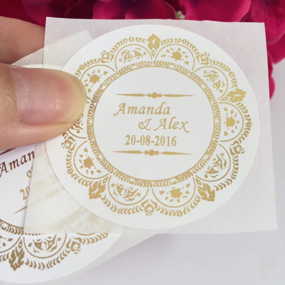 Gold Foil Embossed Sticker Gold Foil Embossed Sticker Suppliers - Custom printed stickers cheap