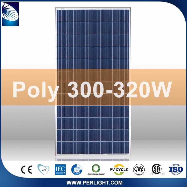 Cheap hot sale top quality 300 watt solar panel for home use