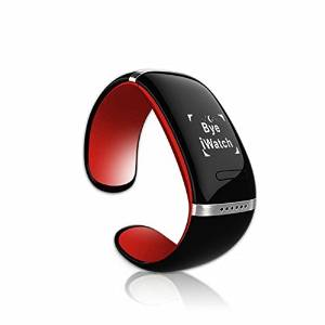 Geekercity® OLED Touch Screen Bluetooth Smart Wrist Watch Vibrating Smartwatch Sports Pedometer Bracelet Smart Phone Mate with Call ID Display / Answer / Dial / SMS Reading / Music Player / Anti-lost /Phonebook Sync /Hourly Reminder for Android IOS Cellphones Apple iPhone 6 Plus/6/5/5S/5C/4/4S,