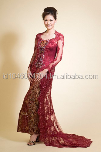Wedding Kebaya Dress 2015 Red