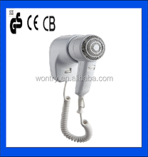 Bathroom useful professional top quality cheap wall mounted hair dryer