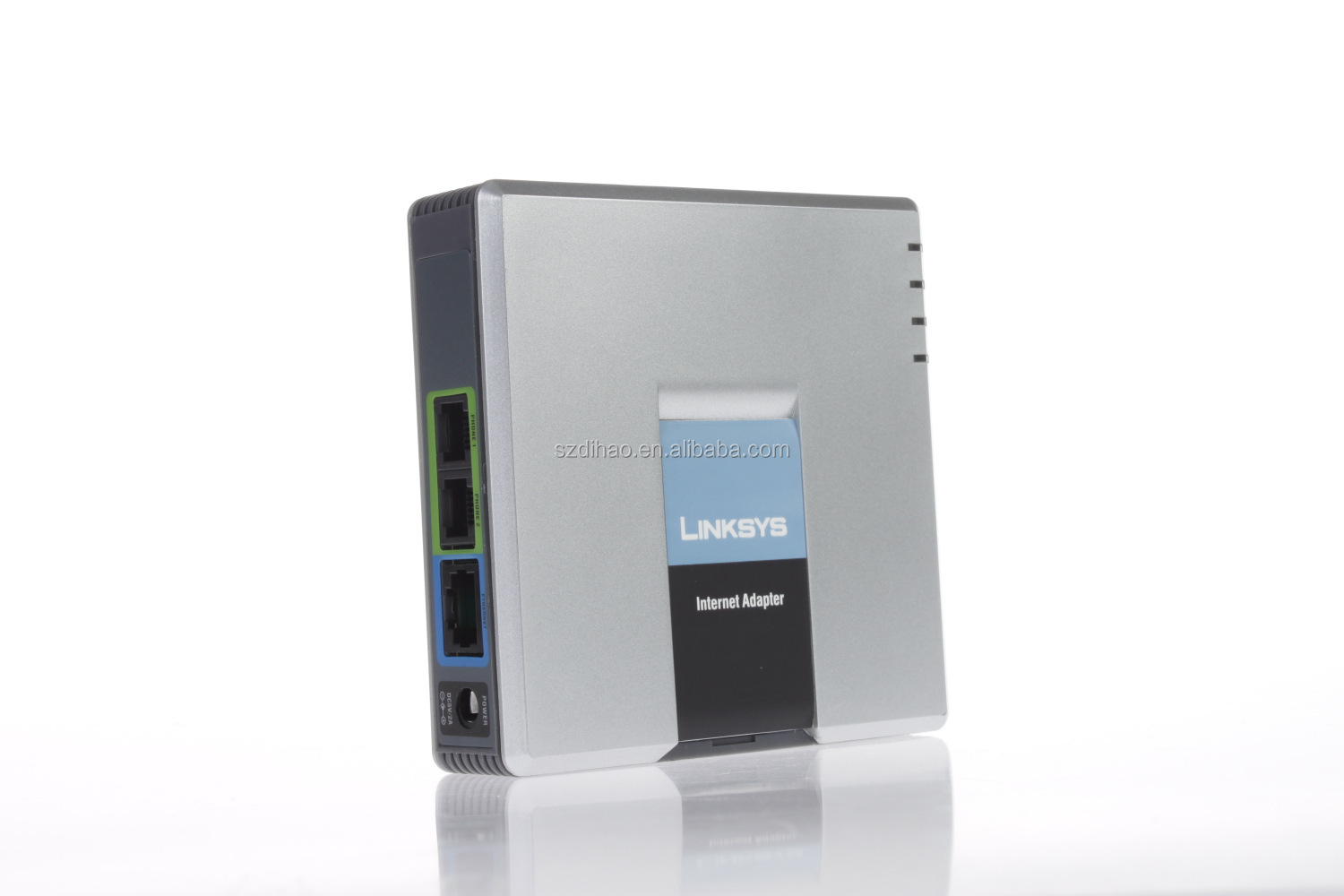 DIHAO Linksys unlocked Linksys SPA-3000 SIP VOIP FXS+1 FXO+1Ethernet PSTN RJ45 Ethernet Cable Phone Adapter