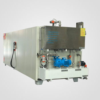 HF vacuum dryer for wood fast drying