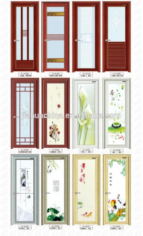 Modern aluminium bathroom doors and window aluminum frame for Aluminium bathroom door designs