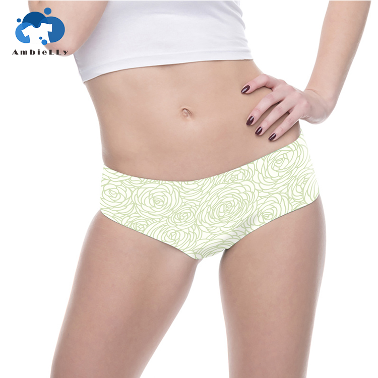 Custom Design New Fashion High Quality Seamless Soft Sexy Innerwears Women Under Wear Panties
