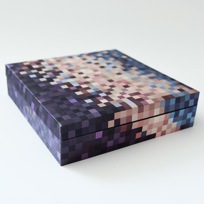 Luxury Magnetic Moon Cake Paper Packaging Gift Box
