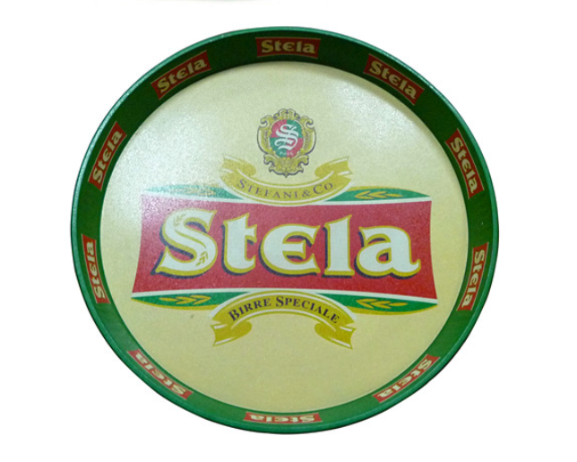 Printing Round Tin Tray For Beer Promotional