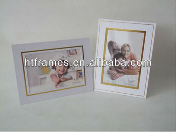 newest cheap white paper photo frame 4x6 5x7 8x10 buy