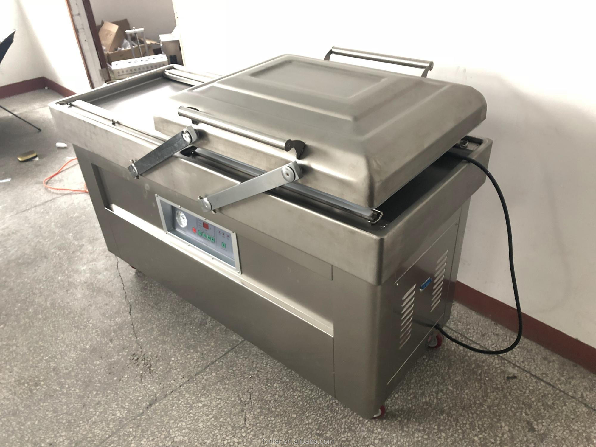 Vacuum packing machine meat/vacuum food sealer packing machine with CE certificate