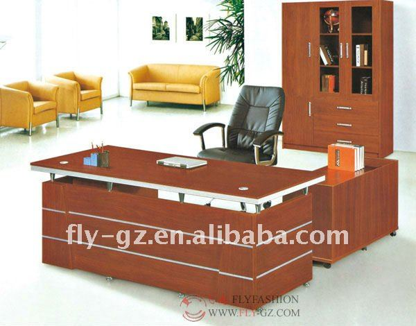 Popular escritorio ejecutivo moderna mesa ejecutiva de for Mobiliario de oficina precios
