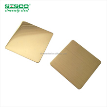 Colored coated mirror decorative etching stainless steel sheet for elevator parts