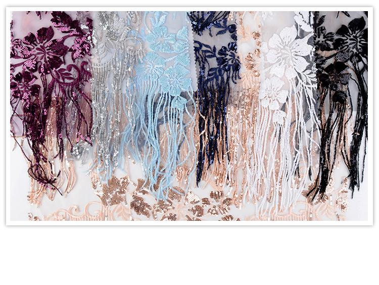 Fancy design customized luxury mesh polyester cheap tulle fabric