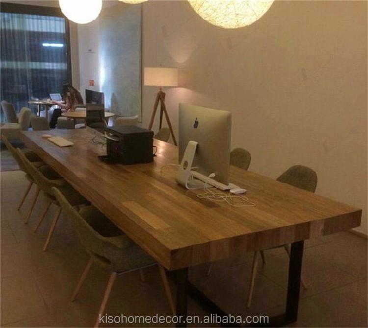 hierro forjado moderna cafetera sillas y mesas madera maciza mesa plegable y silla set - Mesas De Madera Maciza