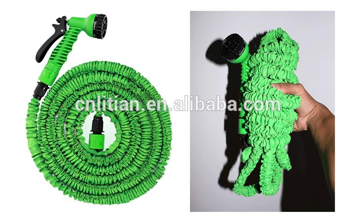 fashionable patterns delicate colors the 75ft expandable garden hose & spray gun nozzle (7 function settings)