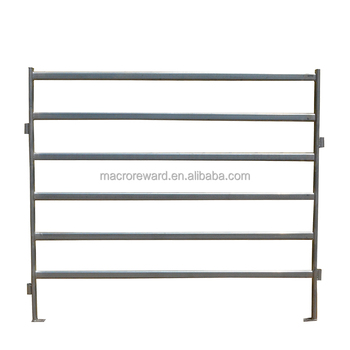 OEM & ODM Galvanized material metal horse cattle fence panel for sale