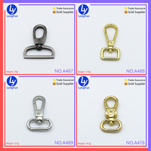 professional factory cheap price wholesale solid dog swivel snap hook wholesale buckle metal hook for key chain bag accessories