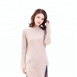 New fashion Sweater Dress Cashmere Round Neck for Women Wholesaler