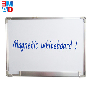 Factory price office 60x45cm standard aluminum frame magnetic whiteboard