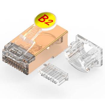 Enjoyable Quick Union Gold Plated 1 0Mm Od 8P8C Ftp Custom Clip Logo Ethernet Wiring Database Gramgelartorg