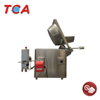 full automatic industrial oil water deep fryer machine for beans