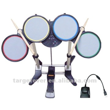 All in 1 Wired Drum Set for PS3/PS2/Wii game drum set