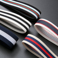factory wholesale white black color knitted braided elastic band wholesale for clothing