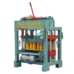 hollow building concrete block making machine cement block making equipments manual for sale