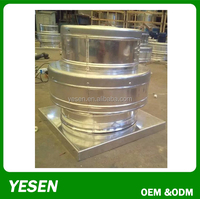 Aluminum roof fan centrifugal exhaust fan