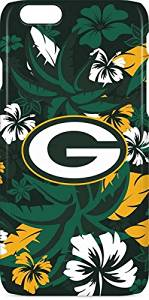 NFL Green Bay Packers iPhone 6s Lite Case - Green Bay Packers Tropical Print Lite Case For Your iPhone 6s