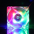 Low Noise 120mm Colored PC Fan Cooling 5V 12V 24V 120mmx120mmx25mm Computer Case PC Led Transparent DC Fan Manufacture