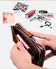 Multifunction Zipper Cash Storage Premium Flip PU Leather Wallet Case Cover For nokia 6