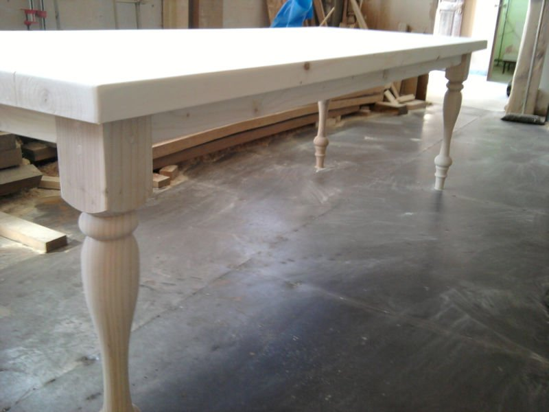 Dining Table With Hand Turned Legs Wooden Product On Alibaba