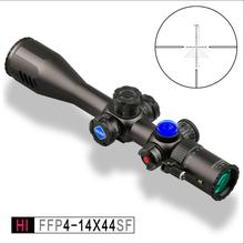 Discovery HI 4-14X44SF FFP first focal plane sigillo di alta qualità ambito militare surplus rifle scopes