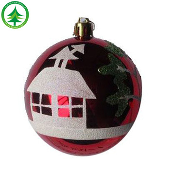 wholesale high quality 6 cm plastic christmas ball ornament bulkpainted frosted christmas ball - Christmas Ball Ornaments Bulk