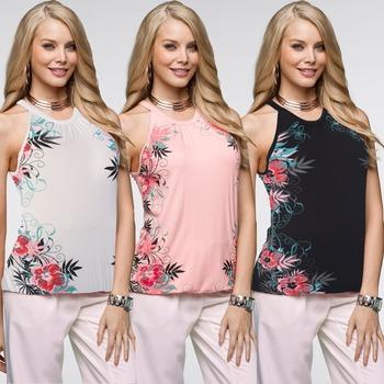 f033ef9e758ab 2018 printed sleeveless strapless shirt girls summer styles slim tops