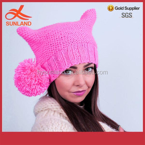 41372331305b78 Pink Pussy Hat, Pink Pussy Hat Suppliers and Manufacturers at Alibaba.com