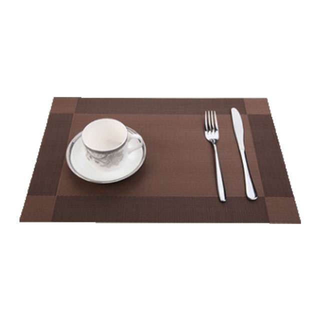 Customized size or color  pvc table mat eco-friendly drawing table mat  for  restaurant home application
